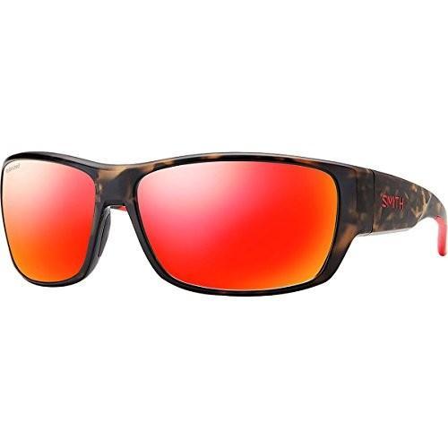 スポーツSmith Forge Polarized Sunglasses - Men's Matte Camo/Polarized 赤 Mirror, One SizeSmith One Size