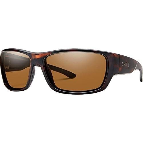 スポーツSmith Forge Polarized Sunglasses - Men's Matte Tortoise/Polarized 褐色, One SizeFORGE 64/14/135