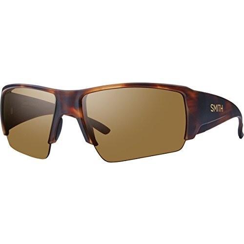 スポーツSmith Optics Men's Captains Choice Polarized Sunglasses,黒Smith