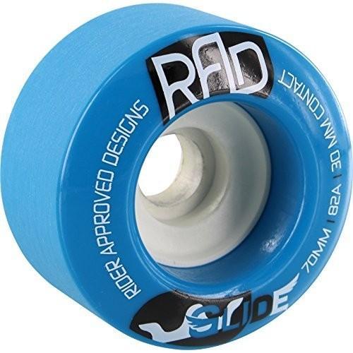 タイヤRAD Wheels 70mm 82a Blue Glide Longboard Rider Approved Designs