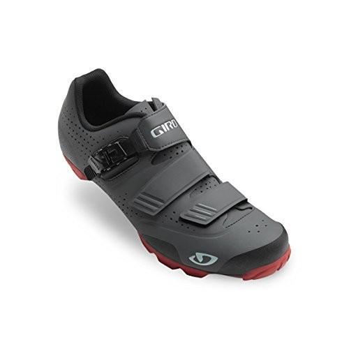 並行輸入品Giro Privateer R Cycling Shoe - Men's Dark Shadow/Dark 赤, 40.040