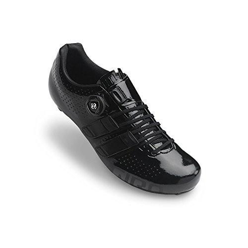 並行輸入品Giro Factor Techlace Road Cycling Shoes Black 43.5Giro 43.5 M EU