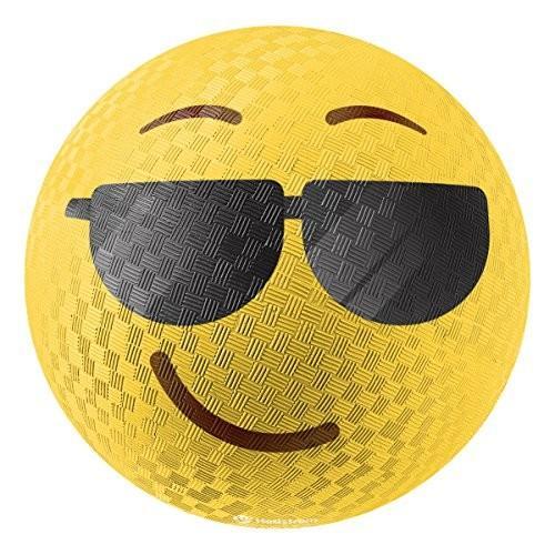 カートゥーンネットワークHedstrom Cool Emoti Rubber Playground Ball, 8.5 Inch54-96984-12PAZ