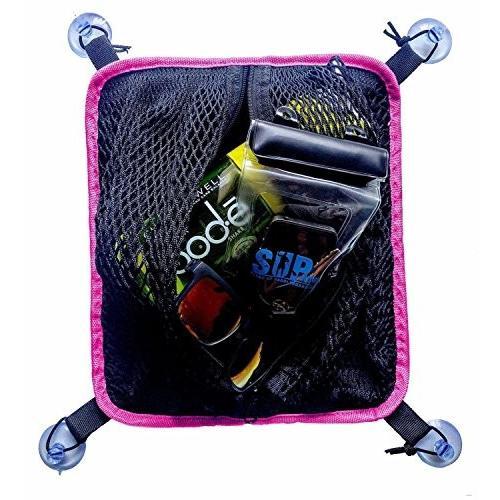 マリンスポーツSUP-Now Paddleboard Deck Bag with Waterproof Insert (Pink Trim)