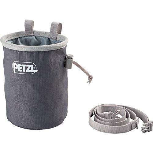 並行輸入品Petzl Bandi Chalk Bag Gray One SizeS038AA00 One Size