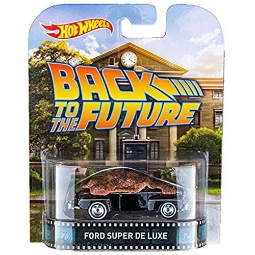 ホットウィール48 Ford Super De Luxe Back To The Future Hot Wheels 2015 Retro Series 1/64 Die Cast Vehicle