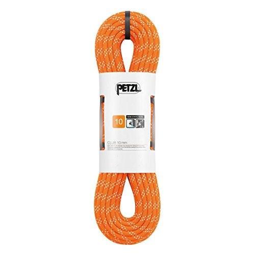 並行輸入品PETZL - Club 10 mm, Rope Designed for Caving and Canyoning, Orange, 60 mPetzl 60m