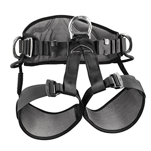 並行輸入品PETZL - AVAO SIT, Seat Harness for Work Suspension, Size 1, Black/YellowC79AAA 1 28