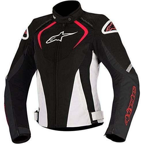 モーターサイクルAlpinestars Women's Stella T-Jaws Waterproof Jacket(黒/白い/赤,Small)2822-0869 Small