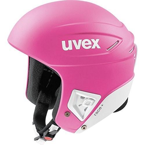 スノーボードUvex Race + Helmet - X-Small/ピンク-白い Matte