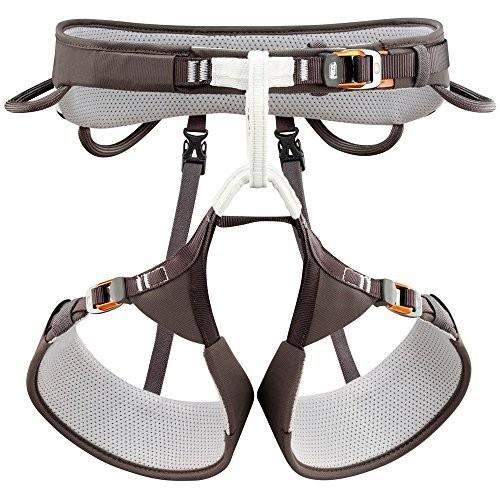 並行輸入品PETZL Aquila Climbing Harness - Gray SmallSmall