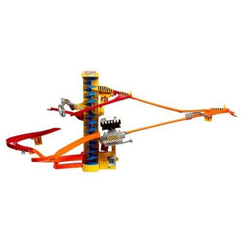 マテルHot Wheels Wall Tracks Power Tower TracksetW3423