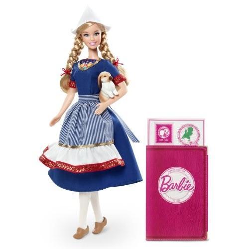 バービーBarbie Collector Dolls of The World Holland Doll