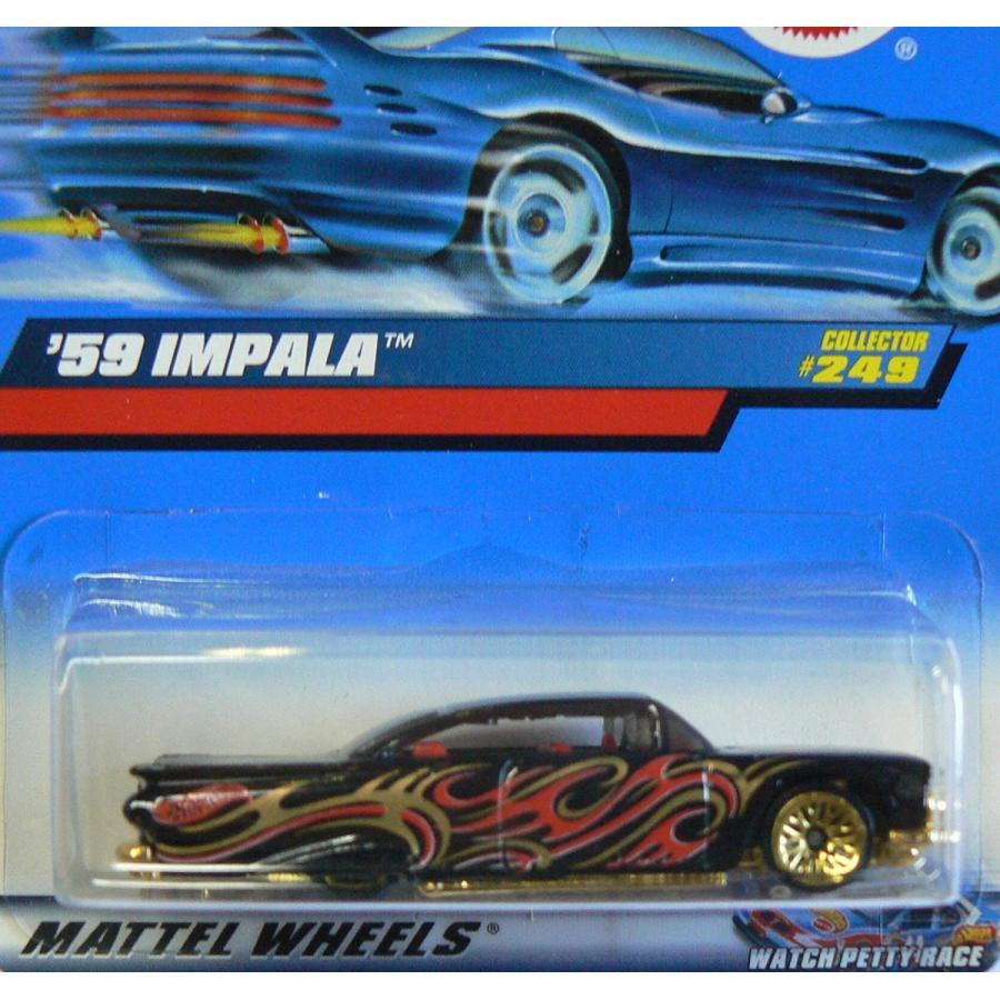 マテルHot Wheels 59 Impala #249
