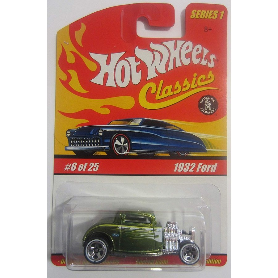 ホットウィール1932 Ford Hot Wheels Classics Series 1 - Antifreeze 6 of 25