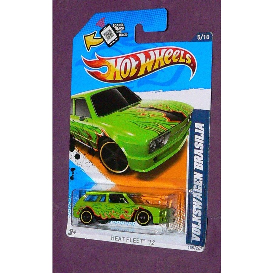 ホットウィールQiyun 2012 Hot Wheels Volkswagen Brasilia 155 247 Windshield
