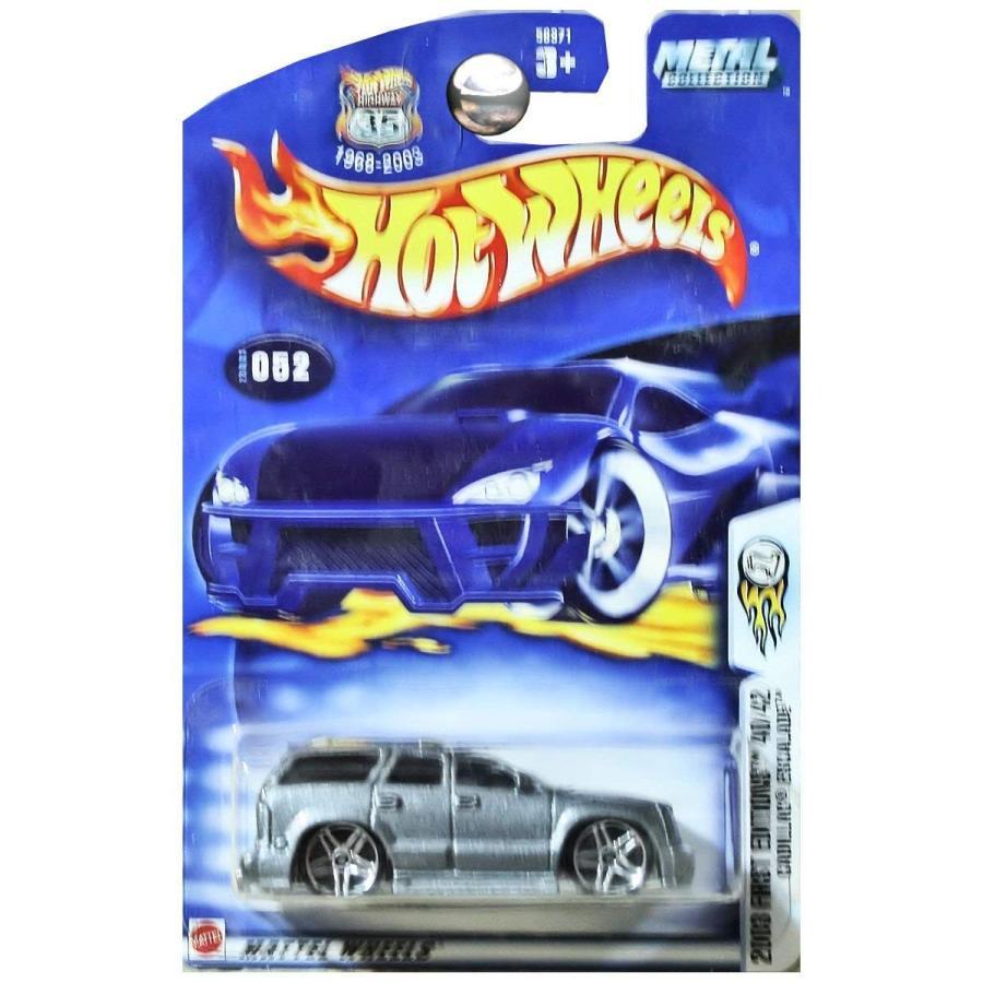 マテル2003 Cadillac Escalade Hot Wheels Collectible - First Editions Series - 52