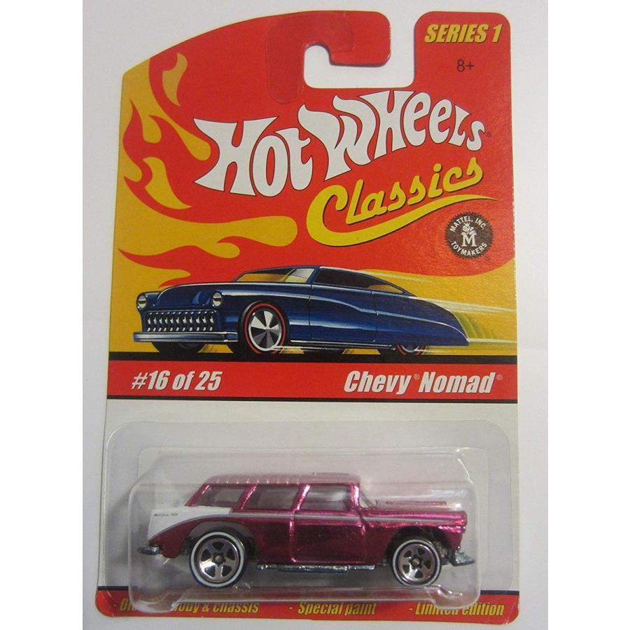 ホットウィールChevy Nomad Hot Wheels Classics Series 1 - Magenta 16 of 25