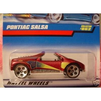 マテルHot Wheels 1998 Pontiac Salsa #862 1:64 Scale
