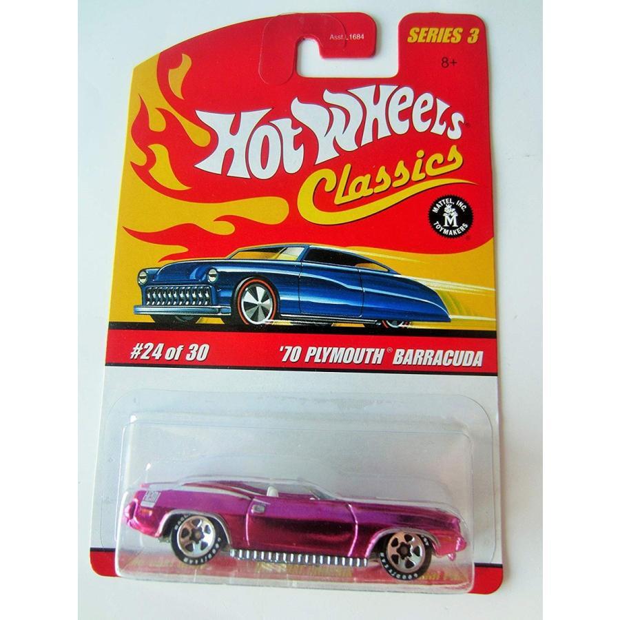 ホットウィールMattel Hot Wheels Classics Series 3 '70 Plymouth Barracuda