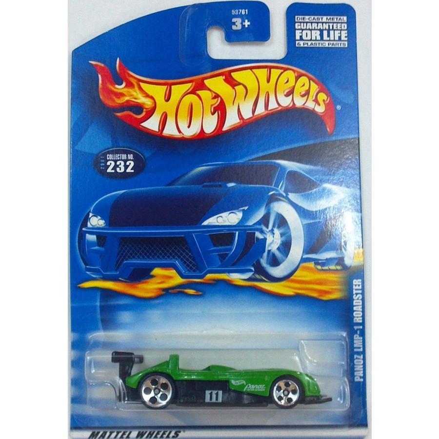 マテルHot Wheels Panoz LMP-1 Roadster #232 Year: 2001
