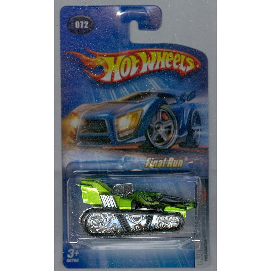 マテルHot Wheels 2005-072 Final Run Treadator 緑 1:64 Scale