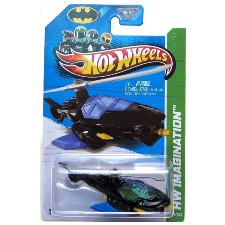 マテルHot Wheels 2013 Hw Imagination 64/250 - Batcopter - New!1:64 Scale