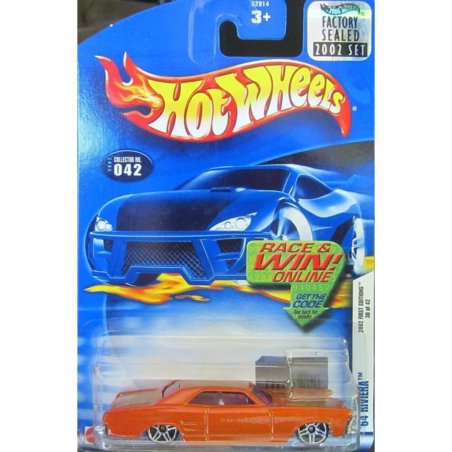 マテルHot Wheels 2002 First Editions `64 Riviera #30 of 42 Collector Car #042 Factory Sealed Stic
