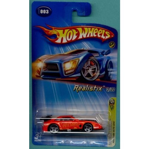 ホットウィールMattel Hot Wheels 2005 First Editions 1:64 Scale Realistix オレンジ Ferrari 575 GTC Die Cast Car #003