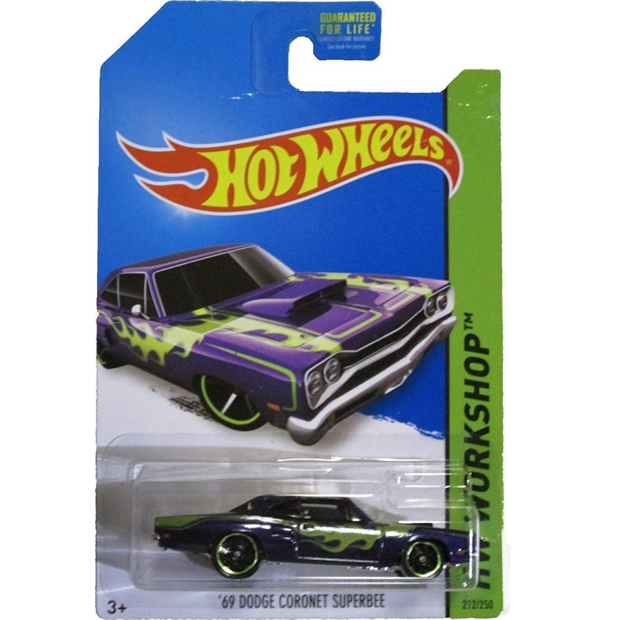 マテルHot Wheels 2014 Hw Workshop Heat Fleet 紫の '69 Dodge Coronet Superbee 212/250