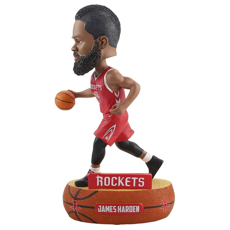 ボブルヘッドNBA Houston Rockets Baller Bobble, Team Color, OS