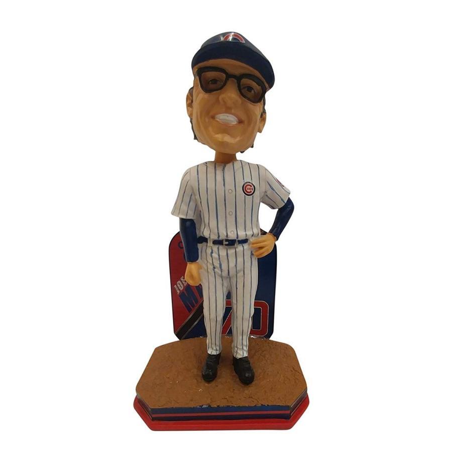 ボブルヘッドJoe Maddon Chicago Cubs Manager 2016 Name and Number Bobblehead - Individually Numbe赤