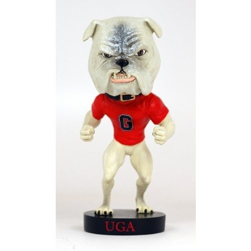 ボブルヘッドRoyal Bobbles Georgia Bulldog Bobblehead