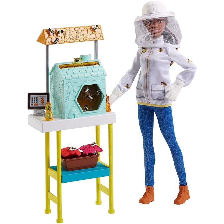 バービーBarbie Beekeeper Playset, Brunette