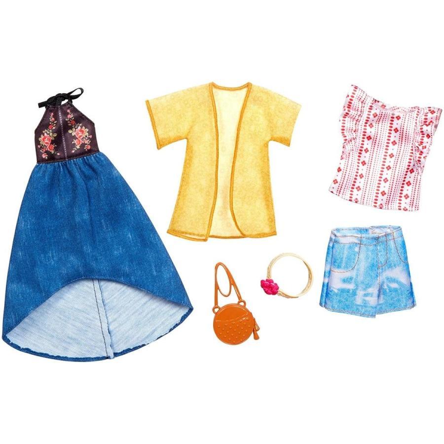 バービーBarbie Urban Boho Fashion, 2 Pack