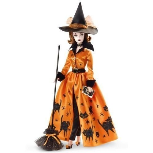 バービーBarbie Doll Fan Club Exclusive Halloween Haunt ゴールド Label
