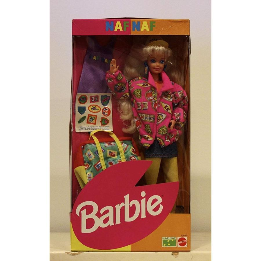 バービーNAF NAF TRAVEL BARBIE - 1993 EUROPEAN #10997 by Barbie