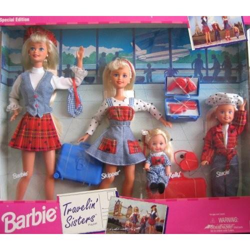 バービーBarbie Travelin' Sisters Playset Special Edition