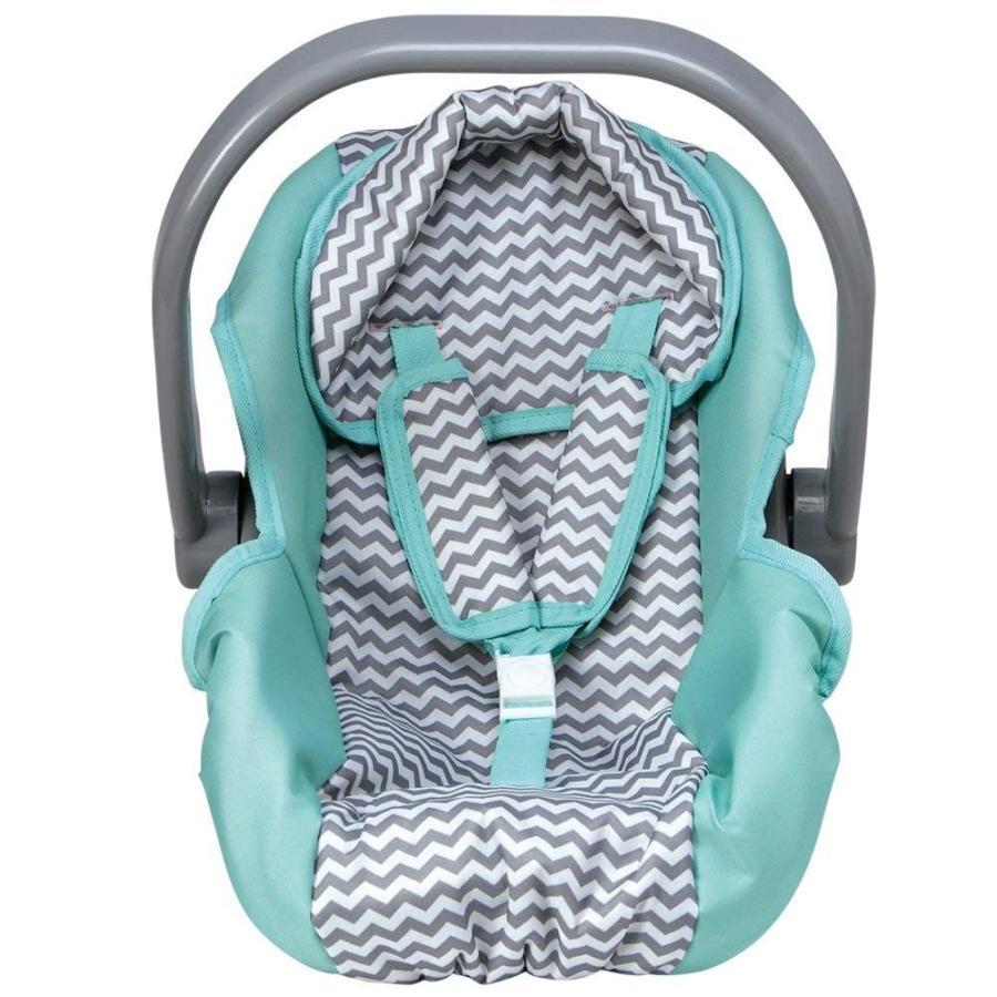 赤ちゃんAdora Zig Zag Car Seat Carrier Accessory for Dolls and Stuffed Animals, Perfect for Kids
