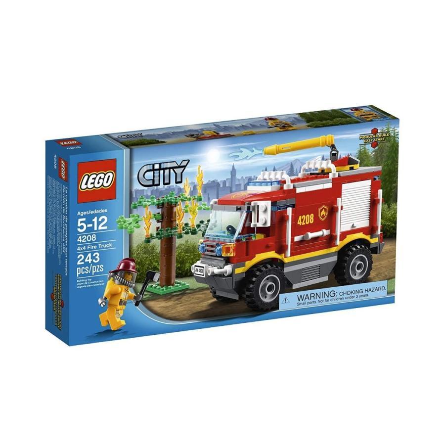 シティLEGO City 4X4 Fire Truck 4208