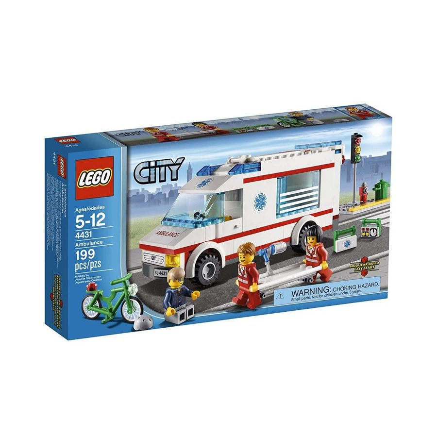 シティLEGO City Town Ambulance 4431