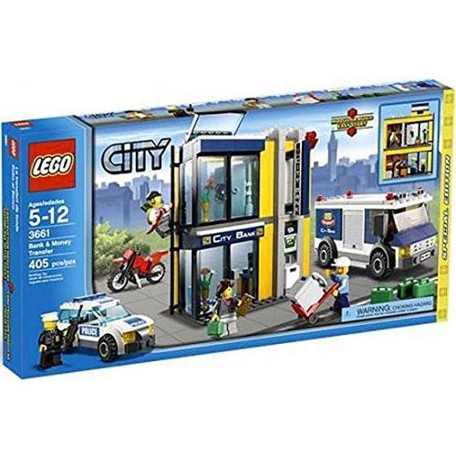 レゴLEGO City Special Edition Set #3661 Bank Money Transfer