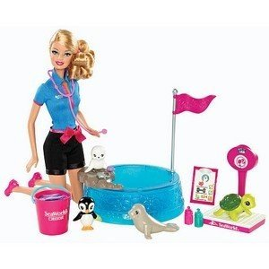 バービーBarbie I Can Be… - Sea World Baby Animal Rescuer Playset