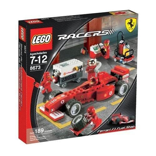 レゴLEGO Racers Ferrari F1 Fuel Stop