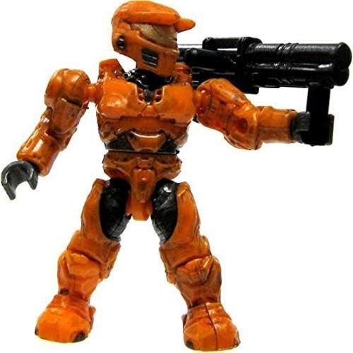メガブロックHalo Wars Mega Bloks LOOSE Mini Figure UNSC オレンジ Spartan with Rocket Launcher