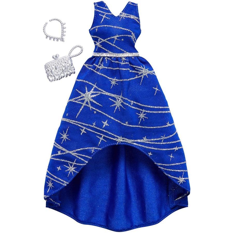 バービーBarbie Complete Looks Navy 銀 Sparkle Gown Fashion Pack