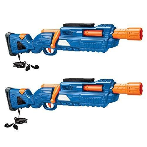 バズビーBuzz Bee Air Warriors Covert Squad 2 Pack Dart Blaster Set, 青