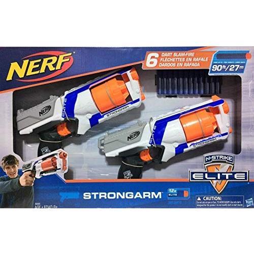 ナーフNerf N-Strike Elite - Strongarm - 2 pk