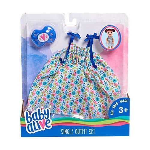 赤ちゃんBaby Alive Single Outfit Set - Floral Dress