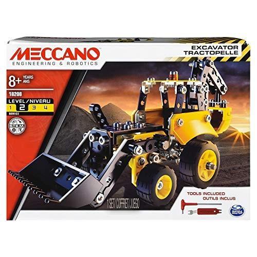 メカノMeccano Wheels and Moving Parts Construction Set - Race Car